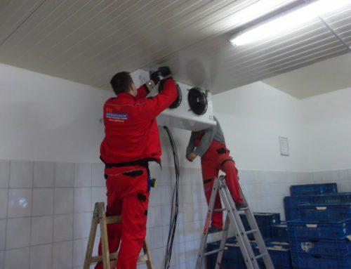Hűtőberendezés telepítése – Ekecs