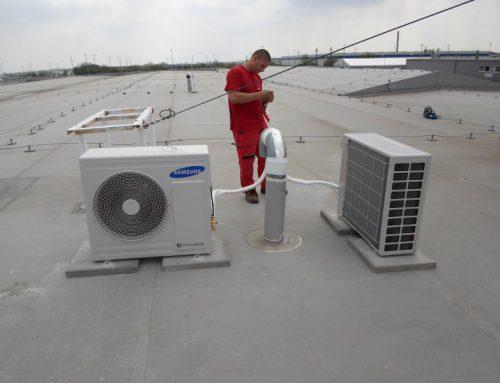 Légkondicionáló berendezés telepítése – SAMSUNG Galánta