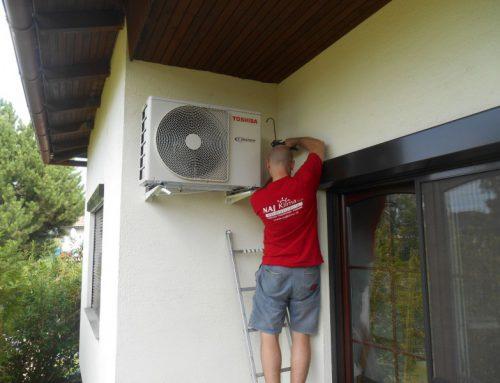 Légkondicionáló berendezés telepítése – Ausztria