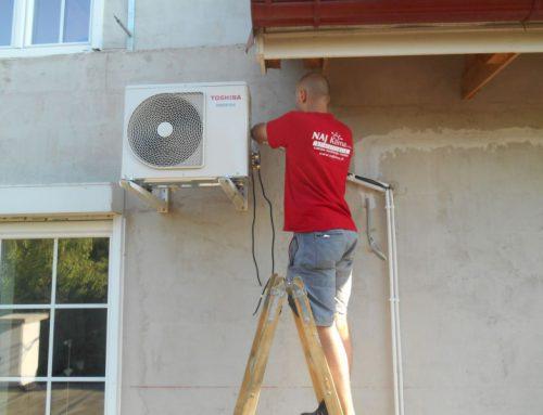 Légkondicionáló berendezés telepítése – Bohac (Ausztria)